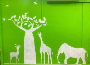 クレメンティ校壁画